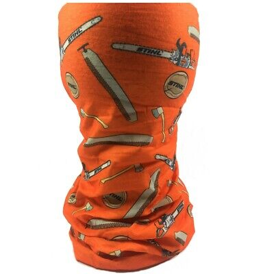 Stihl Timbersports Trekkingtuch Orange Neck Warmer