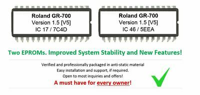 Roland GR-700 – Versione 5 OS Update Upgrade Firmware For GR700 Chitarra Synth