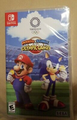 Mario & Sonic at the Olympic Games Tokyo 2020 Nintendo Switch Game New Free Ship