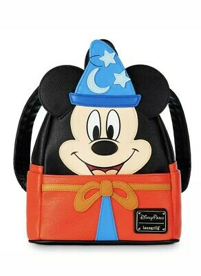 NEW Disney Parks Ink & Paint Collection Sorcerer Mickey Loungefly Backpack 2020