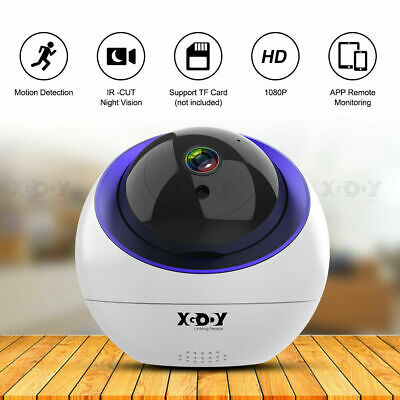HD 1080P Baby Monitor Wireless WIFI CCTV Camera Night Vision Home Security Cam