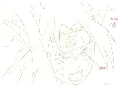 Anime Genga not Cel Naruto #311