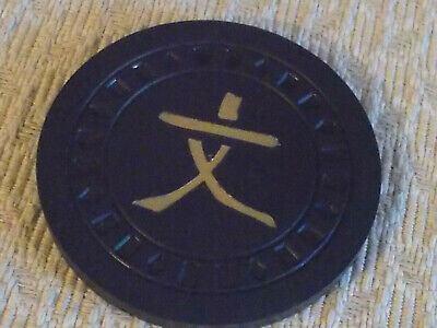 HOTEL CASINO $50  hotel casino gaming poker chip ~ INTERNATIONAL (JAPANESE?)