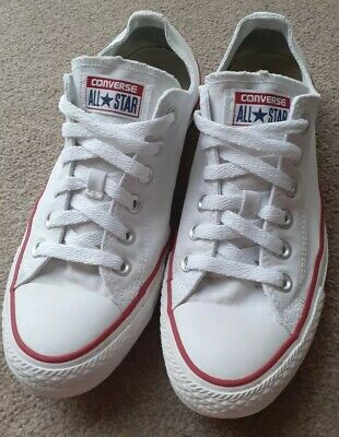 99p Start Converse All Star Optical White UK Size 7 *Great Condition*