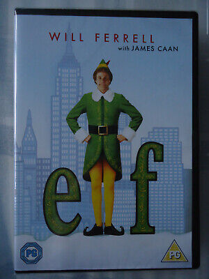 * ELF (Warner UK DVD 2018) Will Ferrell James Caan NEW! SEALED!