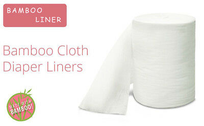 Low Price Flushable Biodegradable Cloth Diaper Bamboo Liners 100sheet/Roll