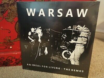 Warsaw An Ideal For Living The Demos Vinyl LP LVY527 New Sealed joy division