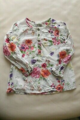 Next, Girls, Floral blouse, 2-3 years