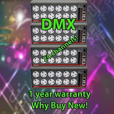 24 ch dmx zero 88 betapack 1 dimmer Stage theatre lighting suit avolites