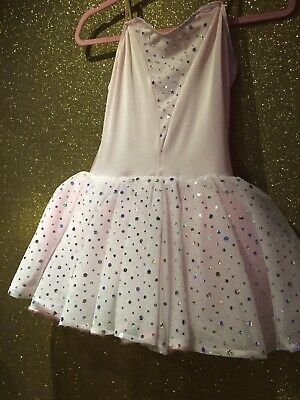 Childs Pink Tutu , Made In England , Size Large Child