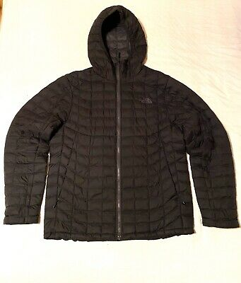 The North Face Thermoball Medium Matte Black Jacket Coat