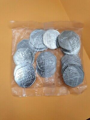 31.01.2020 Uncirculated BREXIT 50p pence coin in sealed bag