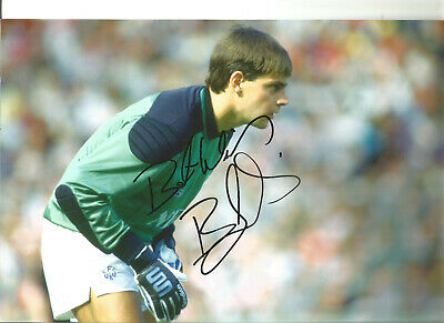 Bobby Mimms Everton 12 x 8 inch hand signed authentic football photo SS147