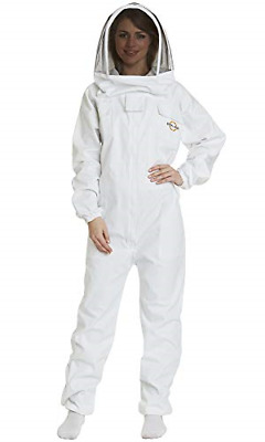 Natural Apiary - Apiarist Beekeeping Suit - Polycotton - Fencing Veil - Total -