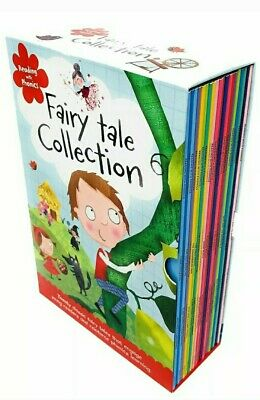 Fairy Tale Reading with Phonics Collection 20 Book Set Little Mermaid 3 Pigs NEW