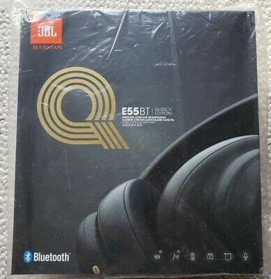 JBL E55BT Quincy Edition WIRELESS Over-Ear Headphones (Never Opened).