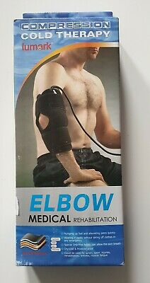 Elbow Cold Compression Cuff - Cryo Therapy Ice Pack Rehabilitation Swelling