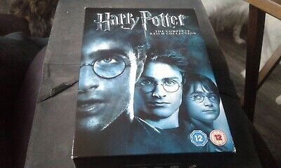 Harry Potter Collection - Years 1 - 8 - English (DVD, 2011, 8-Disc Set, Box Set)