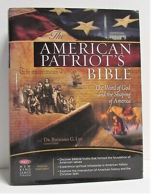Very Nice The American Patriot's Bible (NKJV) Free Shipping