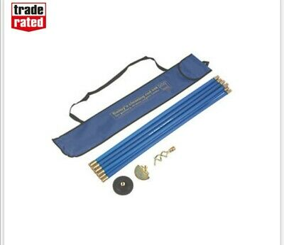 Screwfix Bailey Drain Rod Set used once