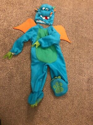 World book day Baby Costume 18-24 Months - Blue Dragon Zog