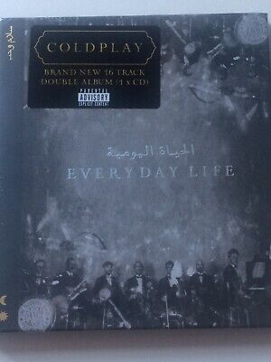 Coldplay - Everyday Life CD Album, Brand New Still Sealed