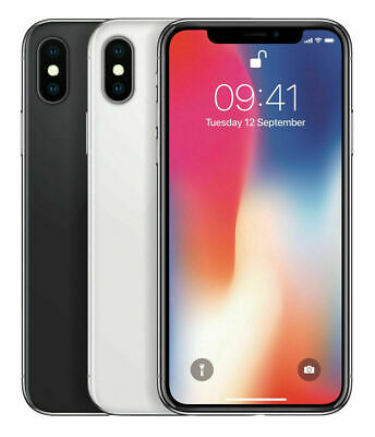 APPLE IPHONE X 256GB Spacegrau - ohne Simlock - Smartphone - 1 Jahr Garantie