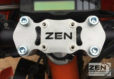 Zen Overland - KTM CNC Top Bar Clamp GPS mount Garmin 950 990 Adventure EXC EXCF