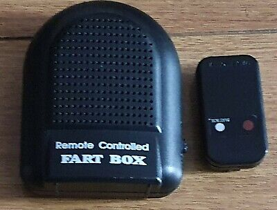 Remote Controlled Electronic Fart Machine Box  Farting Sound Family Fun