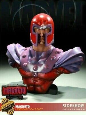 Sideshow EXCLUSIVE Magneto Legendary Scale Bust - MIB