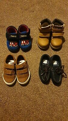 Baby boys shoes bundle, next, river island. Size 4