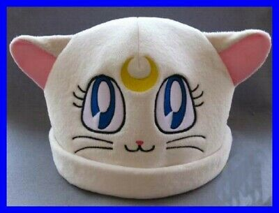 Hat Plush Artemis Cat Sailor Moonkun Japan Anime Manga New Cosplay