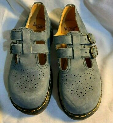 vintage 8065 Mary Jane style two buckle  DR MARTENS  shoes RARE size 4 AIRWAIR