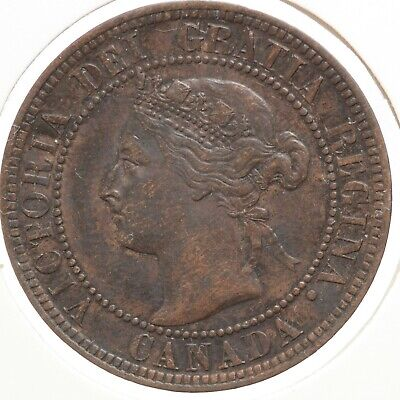 Canada One Cent 1896