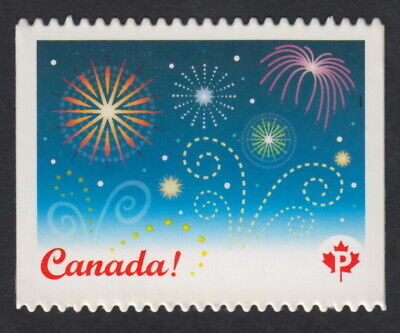 FIREWORKS = CELEBRATION = DIE CUT booklet stamp Canada 2008 #2259i MNH VF