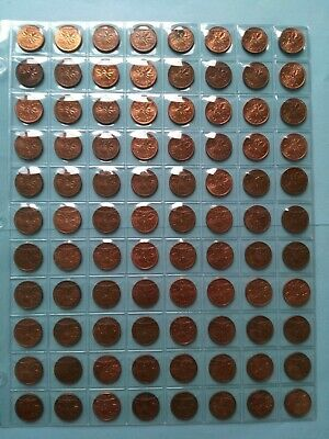 Lot of 88 Canadian 1978 AU/UNC Small Penny, No Reserve! (Lot #8)