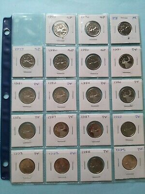 Lot of 19 Canadian UNC/Mint Quarters (25c), No Reserve! (Lot #4)