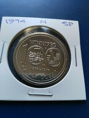 1974 UNC Proof Canadian Nickel Dollar ($1), No Reserve!