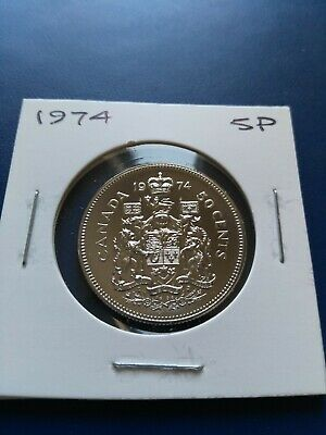 1974 UNC Proof Canadian Nickel Half Dollar (50c), No Reserve!