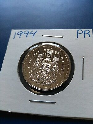 1994 UNC Proof Canadian Nickel Half Dollar (50c), No Reserve!