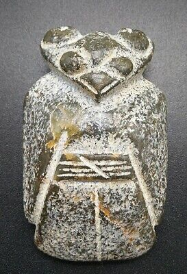 Rare Chinese Ancient Hongshan Culture Jade Carved Eagle Shaped Amulet Pendant A