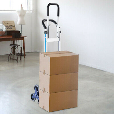 2-in-1 550 lbs Folding Hand Truck Stair Aluminum Cart Dolly