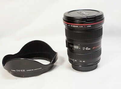 Canon EF 17-40 mm f/4 L USM Lens - Black