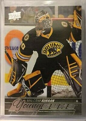 2015-16 Upper Deck #211 Malcolm Subban YG Young Guns Boston Bruins