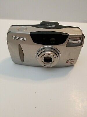 Canon Sure Shot 76 Zoom Date 35mm Point and Shoot Film Camera TESTED WORKS