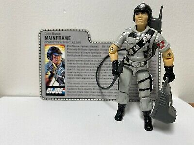 GI Joe Accessory 1985 Cobra Tele-Viper       Black Connector Tube Hose 6 inch