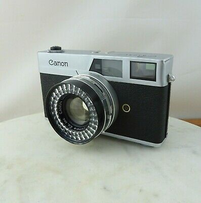 Vintage Canon Canonet 35mm Rangefinder Camera with Case