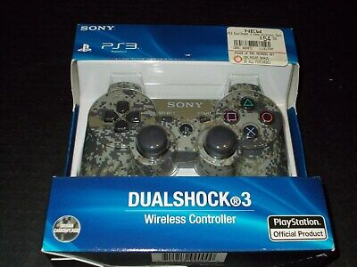 Sony PS3 Playstation DualShock 3 Wireless Bluetooth Controller Camouflage New