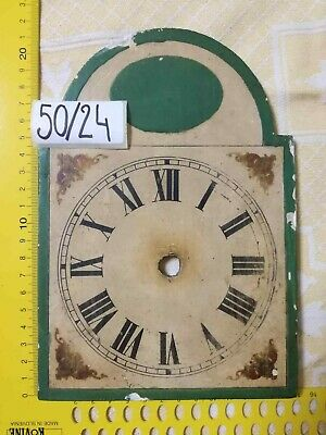 Clock Dial on Wood ANTIQUE
