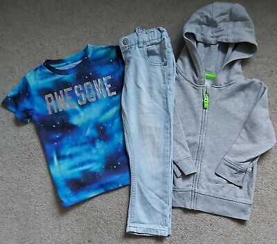 Boys 2-3 Years Clothes Bundle Tops Hoodie Jeans T.shirt Next George